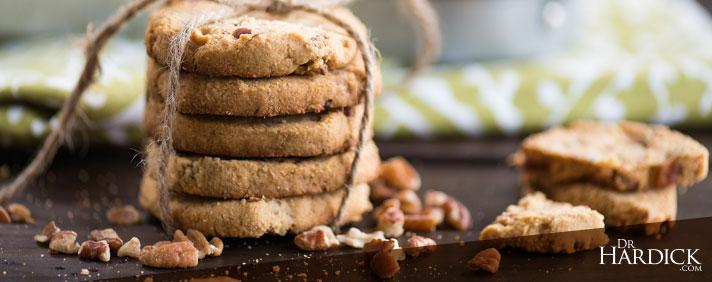 Paleo Pecan Shortbread Cookies