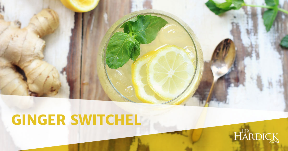Ginger Switchel Recipe - Powerful Detox Drink | DrHardick