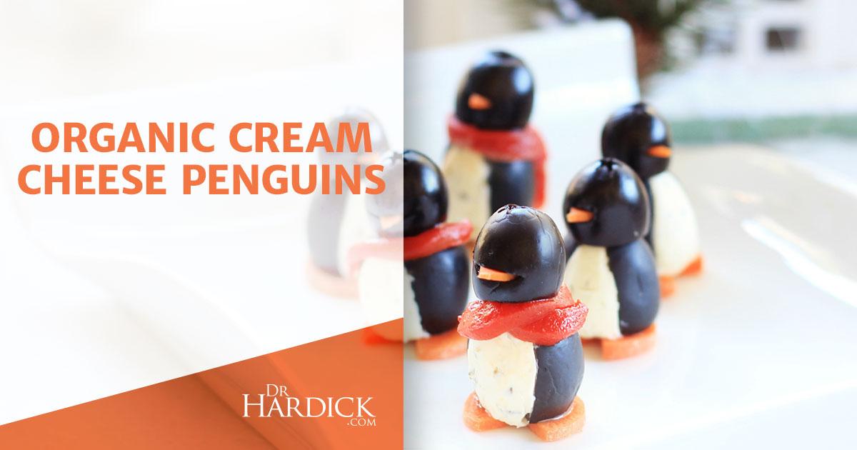 Organic Cream Cheese Penguins - Hilarious Recipe | DrHardick