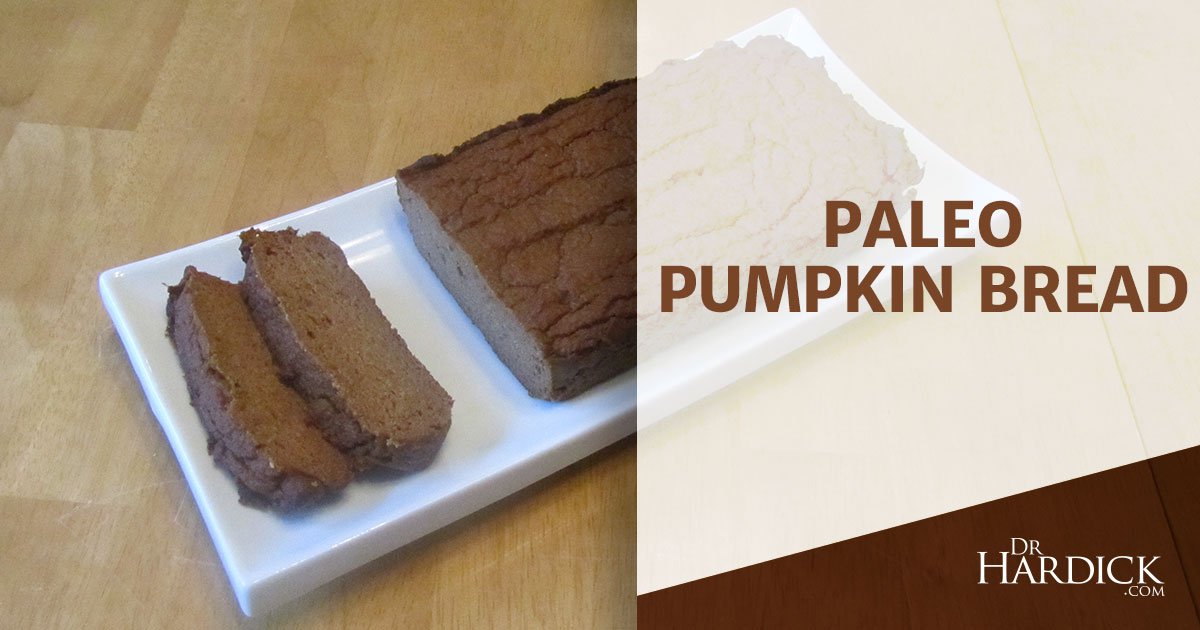 Paleo Pumpkin Bread - Sugar & Grain-Free Recipe   DrHardick