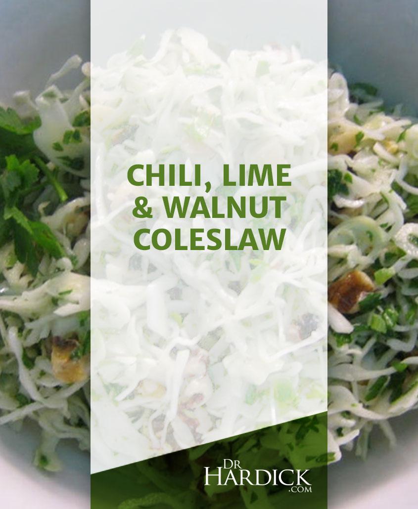 Chili, Lime & Walnut Coleslaw