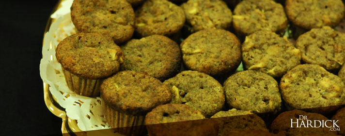 Apple Flax Seed Muffins
