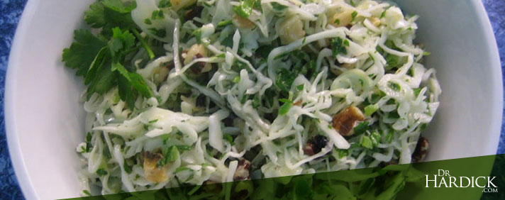 Chili, Lime & Walnut Coleslaw