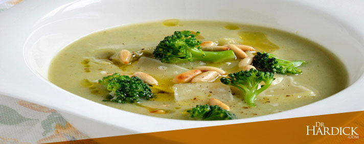 Broccoli & Pine-Nut Soup
