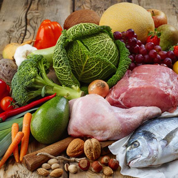 Alimentos de verdade, e não os ultraprocessados