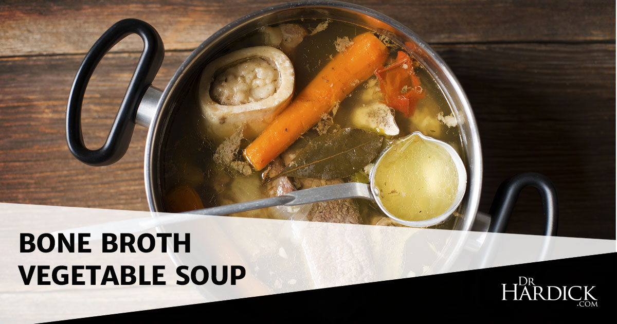 Bone Broth Vegetable Soup