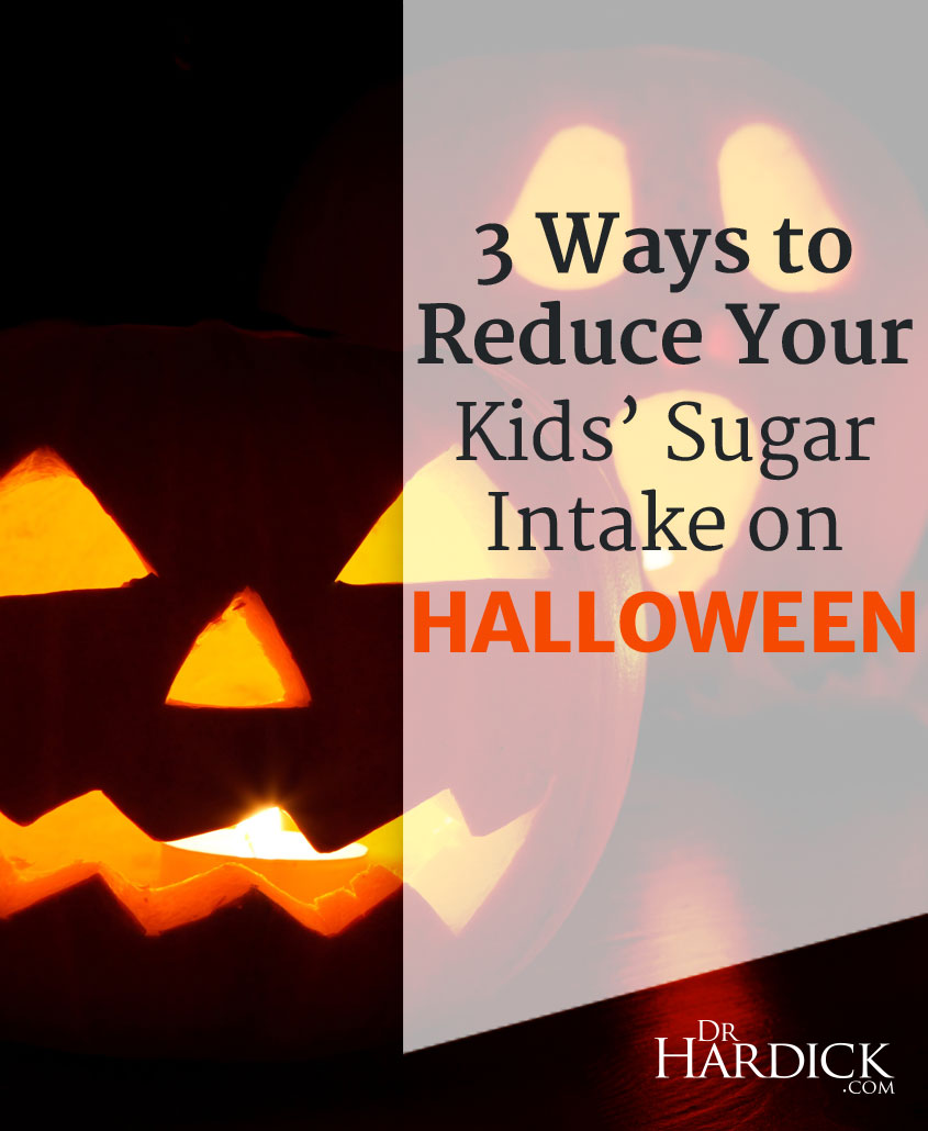 reduce sugar Halloween
