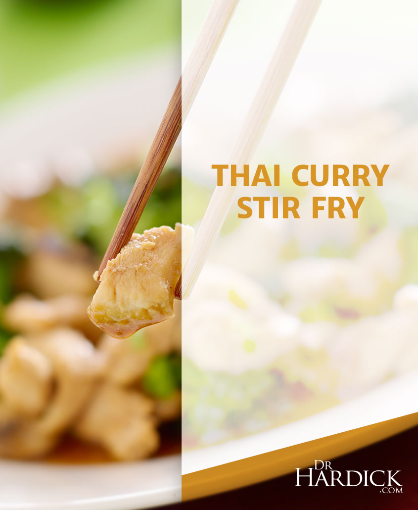 Thai Curry Stir Fry