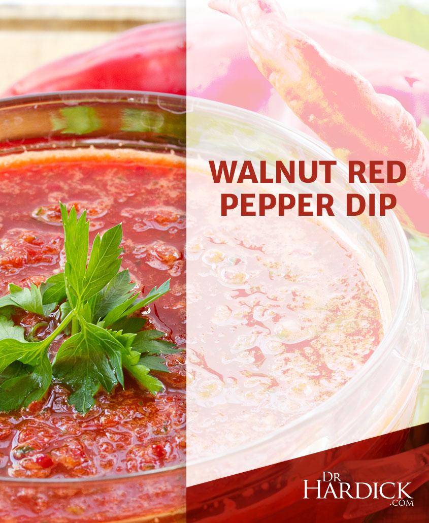 Walnut Red Pepper Dip