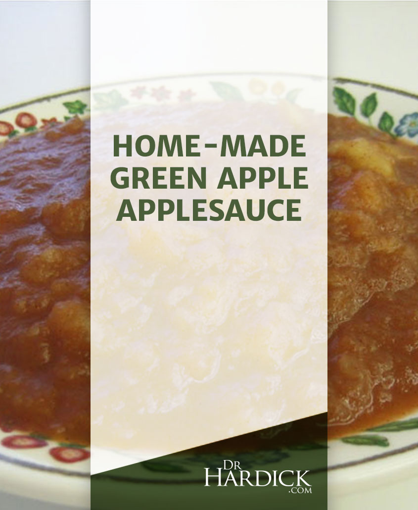 Home-Made Green Apple Applesauce