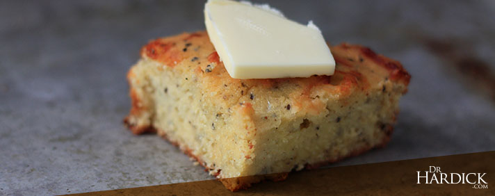 Cheesy Garlic Coconut Flour Bread
