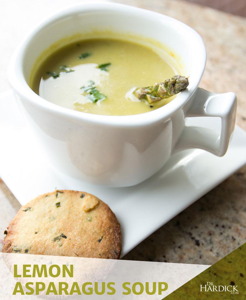 Lemon Asparagus Soup